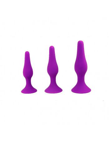 INTIMEN ANAL TRAINING KIT MORADO
